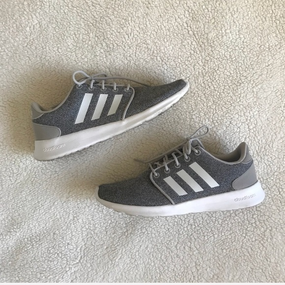 adidas Shoes - Adidas Women s Cloudfoam QT Racer shoes - Grey 59f84c303